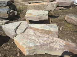 "Chapleau ""Lilac"" stone outcroppings"