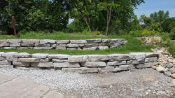 Delta Ledge Stone Retaining Wall