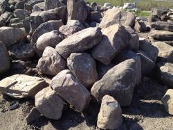 Michigan Granite Fieldstone Boulders - 2'-3' size