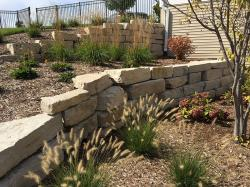 Silver Creek Stone Retaining Wall
