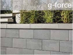 techo bloc g-force retaining wall