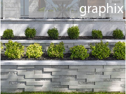 graphix wall from techo bloc