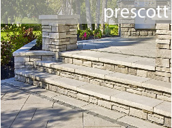 prescott concrete retaining wall like stone