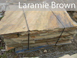 oklahoma laramie brown flagstone