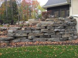 Chapleau Grey Outcropping Wall