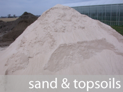 sand and topsoil