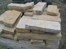 "Sandy Creek 8"" wall stone 2-4"" thick"
